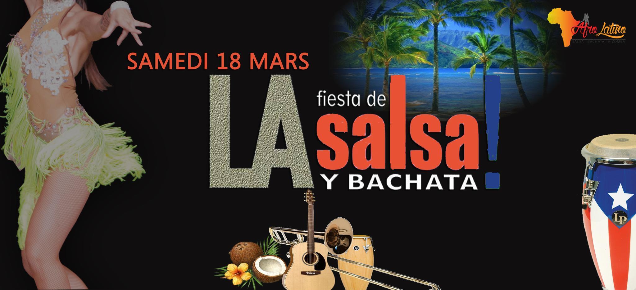 ☆ Soirée Salsa Bachata ☆