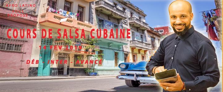 Cours de salsa cubaine le 14 FEVRIER