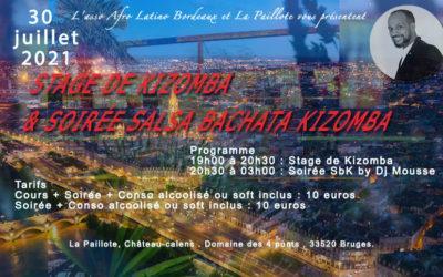 STAGE DE KIZOMBA & SOIRÉE SBK