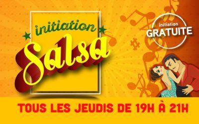 Initiation Gratuite Salsa Tous les Jeudis!